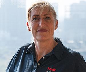 RedR Australia training and capability director Emma Kettle. Photo credit: RedR Australia