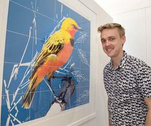 Robin Leppitt is researching the endangered Yellow Chat
