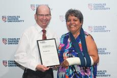 Dr Linda Ford, Exceptional Performance in Research Award