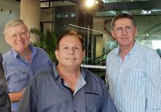 David Price, Alan Berman, John Garrick - Darwin Waterfront