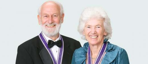 Emeritus Professors Peter and Rosemary Grant will take up the role of the 2016 Charles Darwin Scholars