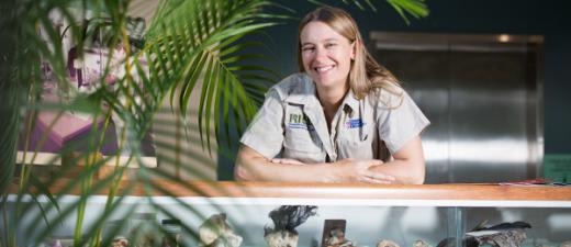 Associate Professor Alison King has been recognised as part of an exhibition celebrating women in ichthyology