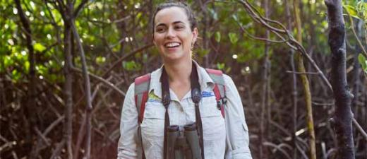 Amanda Lilleyman has researched shorebirds in the Top End for more than eight years