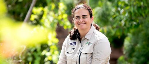 The 2021 NT Young Tall Poppy Awards are now open for applications. Previous winner Dr Carla Eisemberg pictured.