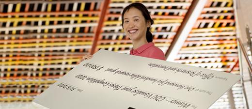 PhD student Winnie Chen won the Visualise your Thesis competition