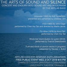 ARTlab Seminar: The Arts of Sound and Silence