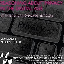 Reasoning about Privacy in the Digital Age flyer