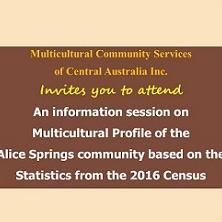 Multicultural profile of the Alice Springs community