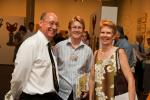 Mr Chris Young, Chief Executive Officer, Chamber of Commerce NT, with Ms Kezia Purick MLA and Mrs Fiona Young