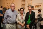 Former Administrator of the Northern Territory, Tom Pauling AO QC, with Anita Angel and Dr Carole Wilson.