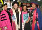 Professor MaryAnn Bin-Sallik, Dr Sue Stanton, Ms Robyn Ober and Dr Linda Ford in 2007.