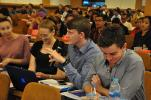 CDU Students participating in an international seminar