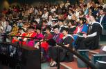 Guests at the installation ceremony of the Chancellor at the Mal Nairn Auditorium, Casuarina campus.