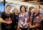 Course coordinator and Lecturer in Health Science Ms Robyn Williams, Dean of the College of Nursing and Midwifery Professor Catherine Turner, Thailand Ambassador Ms Nantana Sivakua, and Course Coordinator Postgraduate Nursing Studies Ms Fran Richardson