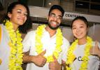It doesn't get c-hula than Genevieve McGuinness, Fahad Khan and Maggie Yap