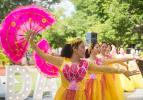 Love my China Dance Group performs at Open Day