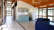 Living room / kitchen accommodation at the Katherine Rural campus
