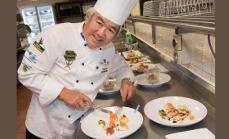 TY Lee Judges NT Culinary Competition 2017