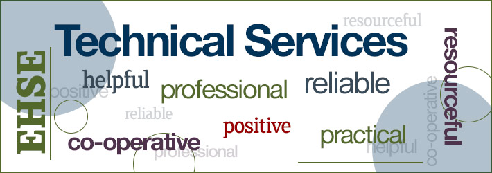 Technical services feedback