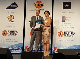 Emily Ford - NT Young Achiever Awards