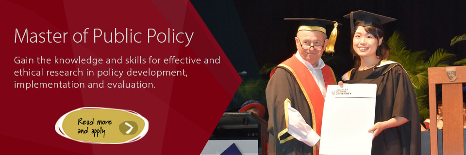 Study the Master of Public Policy