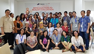 Jakarta 'Realist Evaluation' workshop