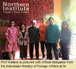 Prof Wallace meets with Indonesian Ministry